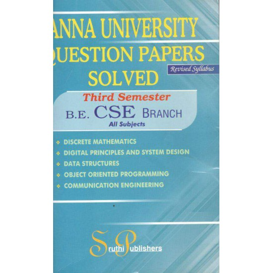 Anna University Solved Question Papers - CSE - 3rd Sem