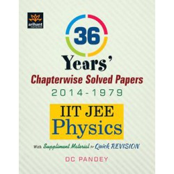 Arihant 36 Years IIT JEE Physics Chapterwise Solved Papers