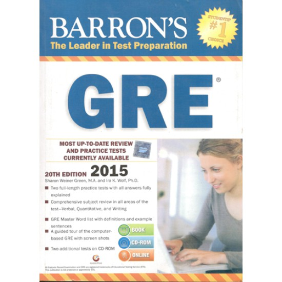 Barrons GRE 2015 - 20th Edition