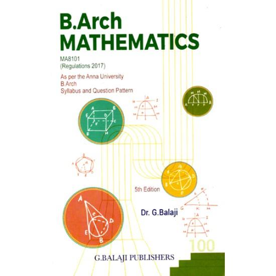 B.Arch Mathematics