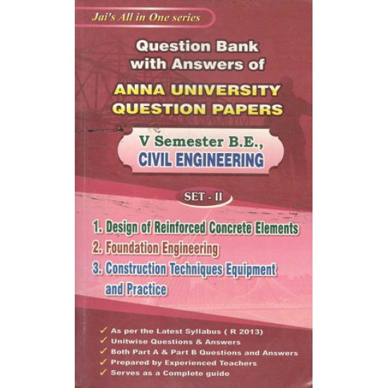 Anna University Solved Question Papers - Civil 5th Sem