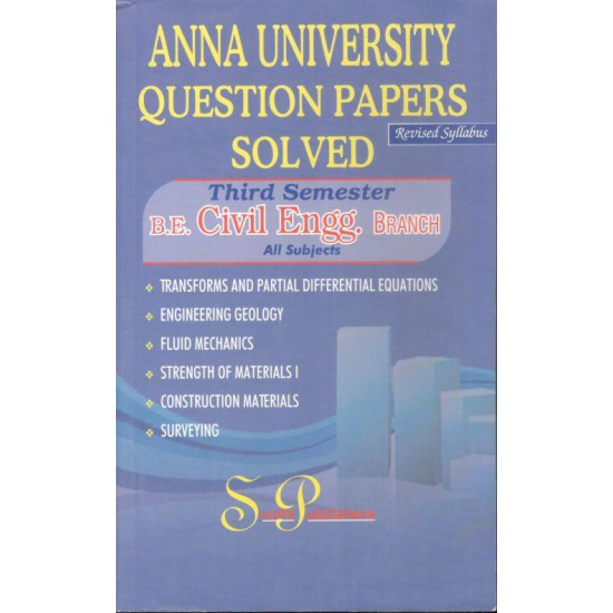 Anna University Solved Question Papers - Civil 3rd Sem