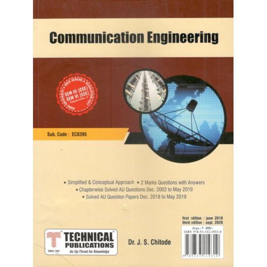 Communication Engineering