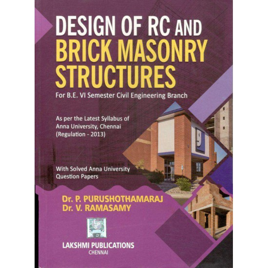 Design of Reinforced Concrete and Brick Masonry Structures