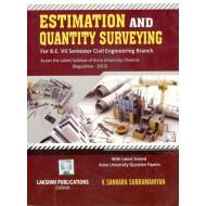 Estimation and Quantity Surveying