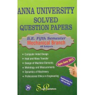 Anna University Solved Question Papers - Mechanical 5th Sem